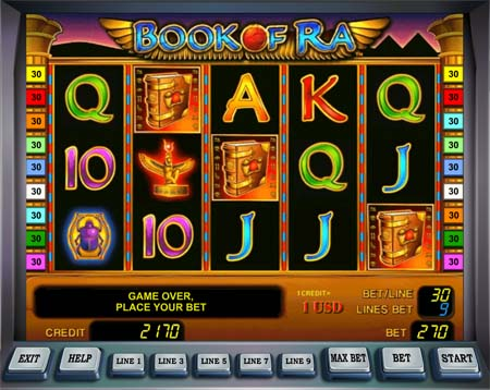 book of ra joc de casino gratis